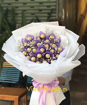 Bó Hoa socola SCL027