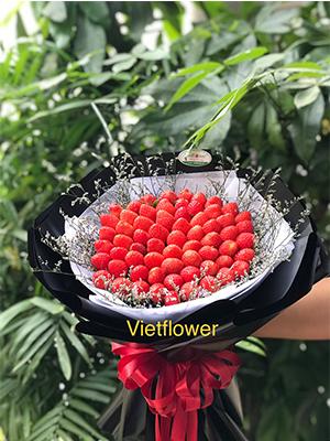 Bó hoa dâu - BDST11