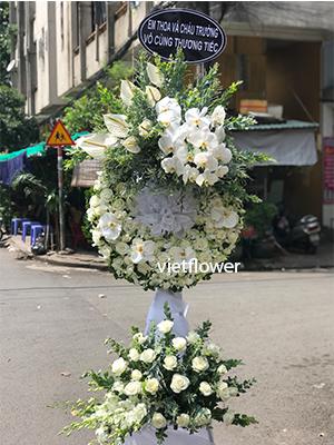 Hoa tang lễ đẹp - VTLĐ111