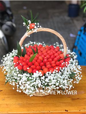 Gior hoa dâu tây - GT111