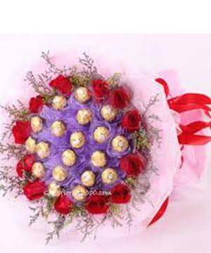 Bó Hoa socola SCL023