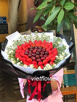 Hoa dâu tây HD043