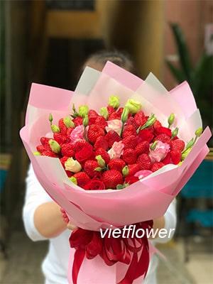 Hoa dâu tây DT038