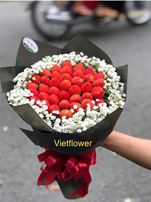 Hoa dâu tây - DTN11