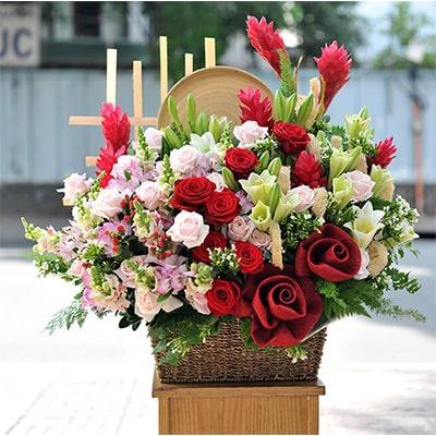 Hộp hoa đẹp VFHĐ006