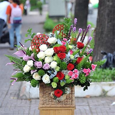 Hộp hoa tươi - VFH003