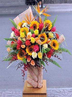 Hộp hoa hướng dương VFHD005