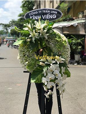 Kệ hoa viếng đám tang - KH112